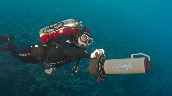 Scooter für Sporttaucher Schnorchler aquaProp