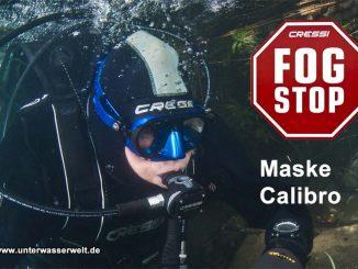 Cressi Tauchmaske Calibro Fog Stop