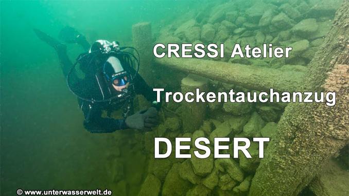 Cressi Trockentauchanzug DESERT