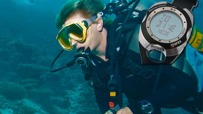 Mares Tauchcomputer Nemo Excel