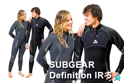 Subgear Tauchanzug Definition IR 5