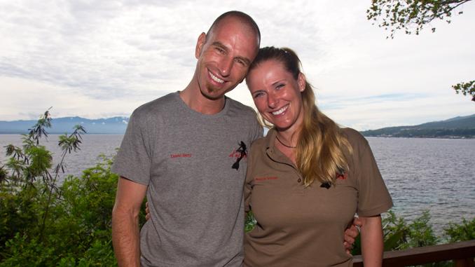 David Benz und Melanie Benz