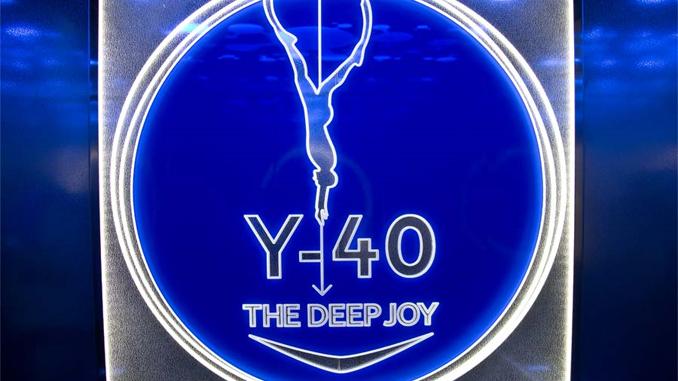 Indoortauchen im Y-40