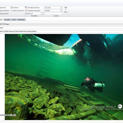 Diving Log 18 16
