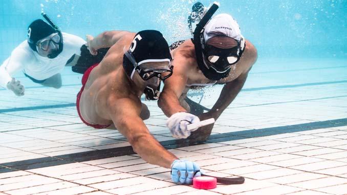 Unterwasser-Hockey