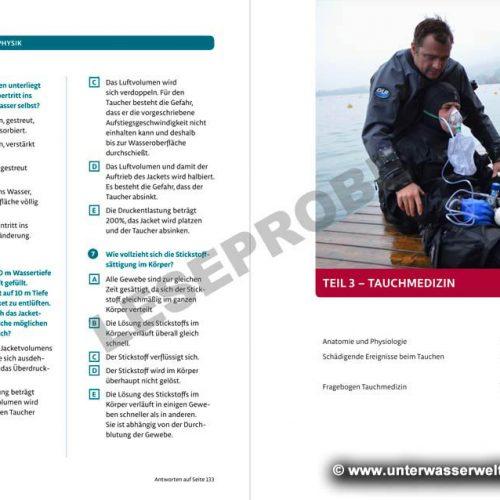 s.u.b. Lehrbuch Master Diver