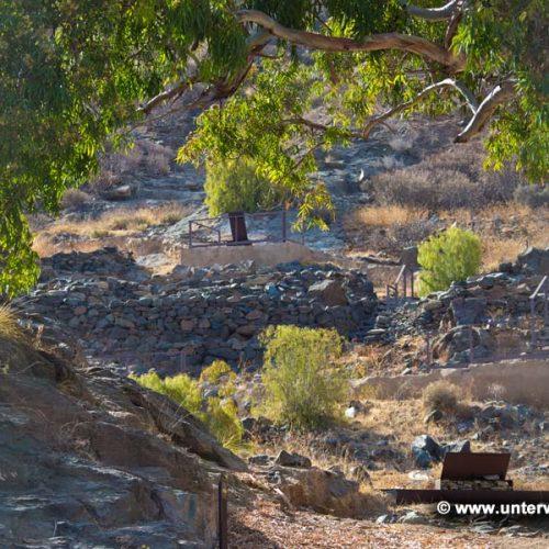 Prähistorische Ausgrabung Puerto de Mogan