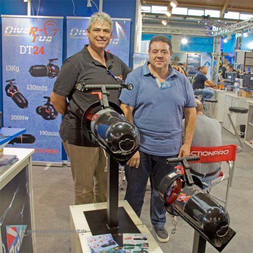 DiverTug Scooter mit David Sánchez Berbel
